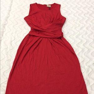 Banana Republic Issa London Red Dress